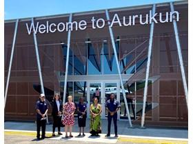 Official opening of Aurukun Airport upgrades
