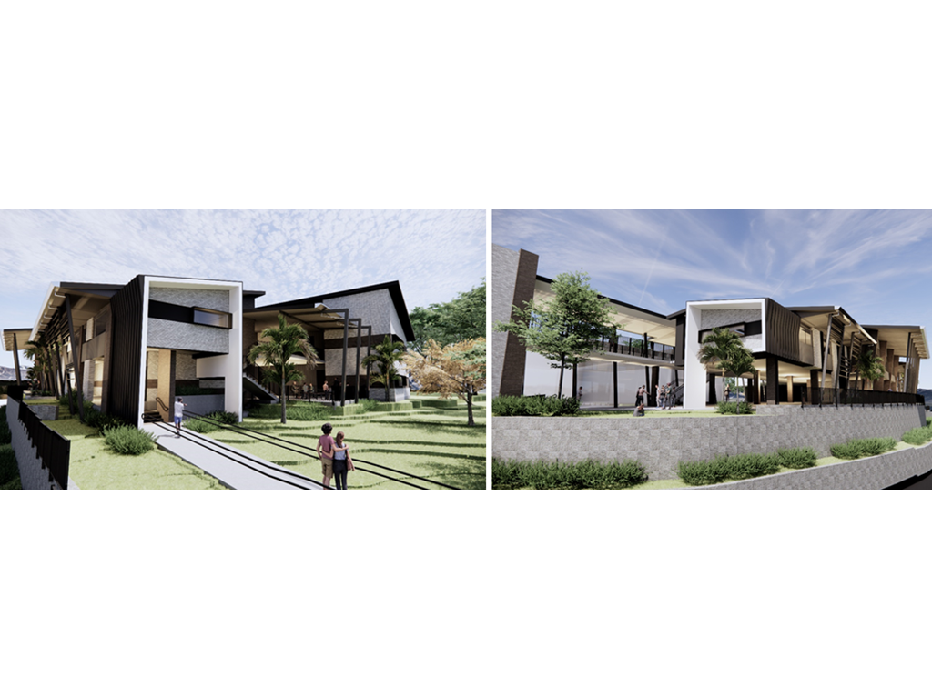 Artist impressions – Junior Secondary Precinct at Pacific Pines State High School