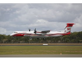 Large Air Tanker arrives in Queensland ahead of bushfire season