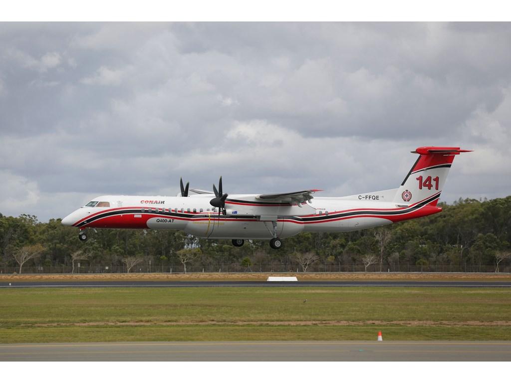 Large Air Tanker arrives in Queensland ahead of bushfire season