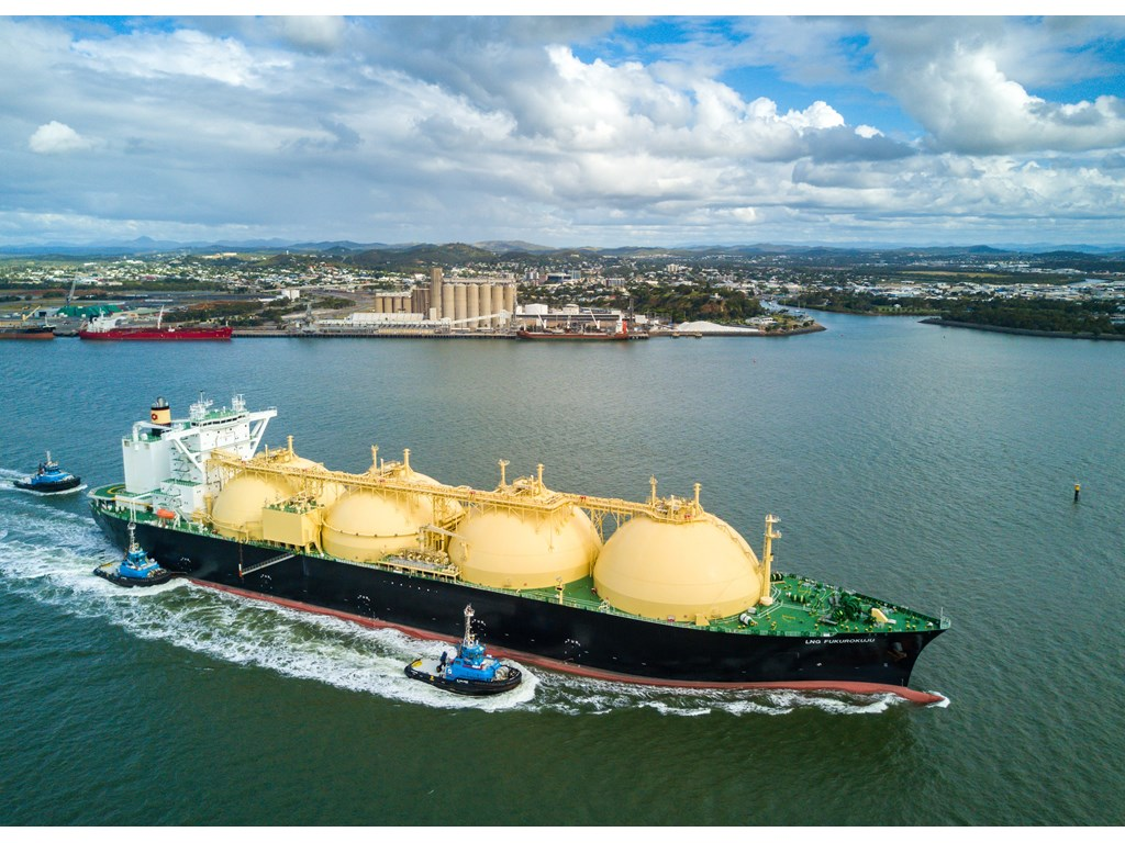 Record exports of LNG leave Gladstone in 2020-21