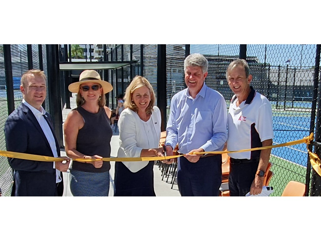 Queens Park Tennis Centre opens 10 new courts