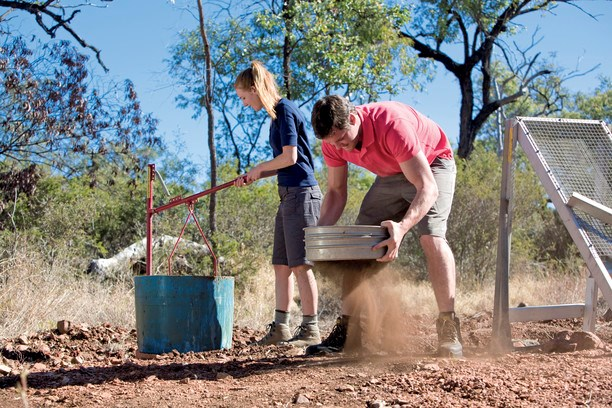 Fossicking is a great way to get out and explore Queensland with the whole family.