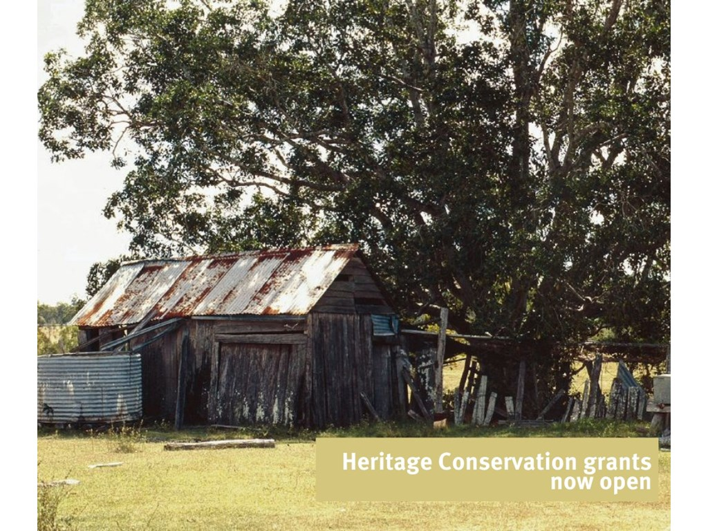 Heritage CSA grants to preserve Queensland's past into the future