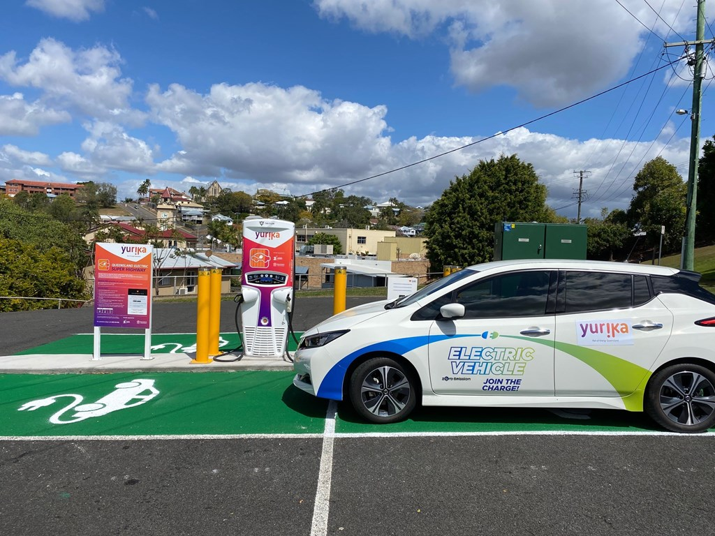 Queensland's electric vehicle super highway charges ahead with new sites