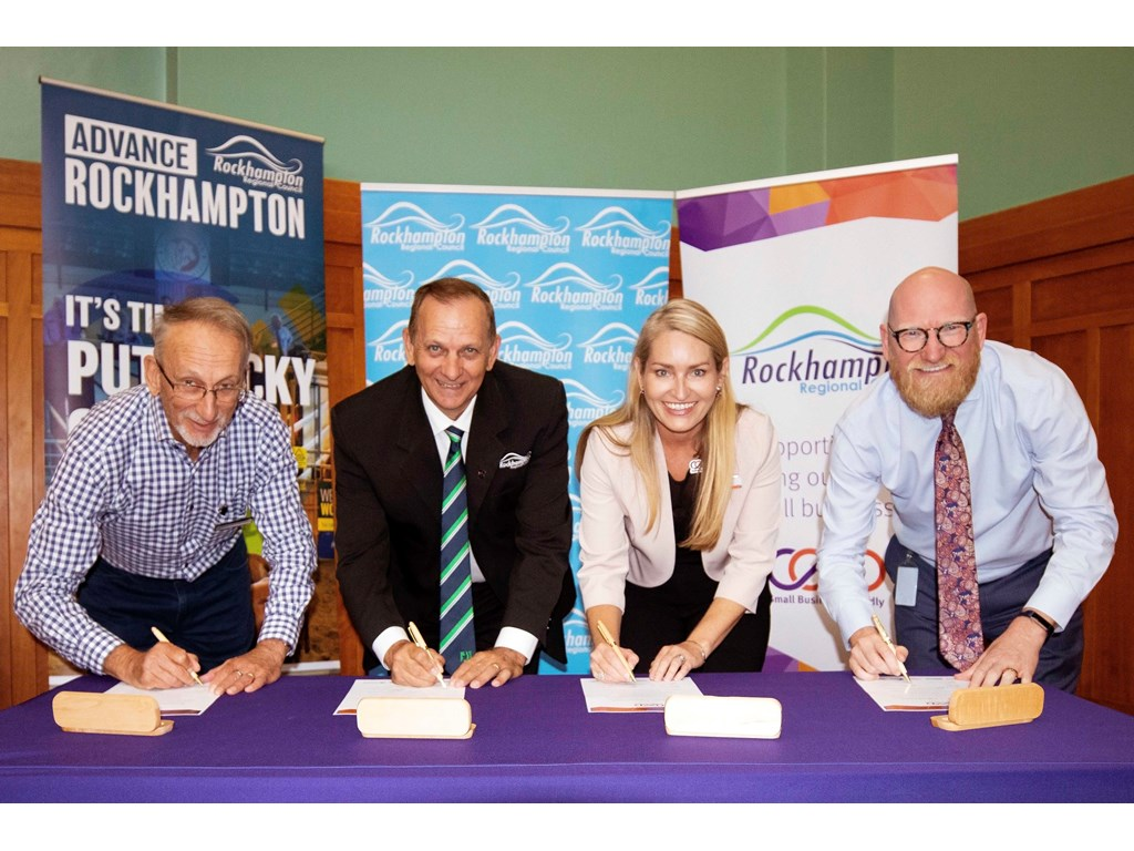 Rockhampton officially becomes a Small Business Friendly Council