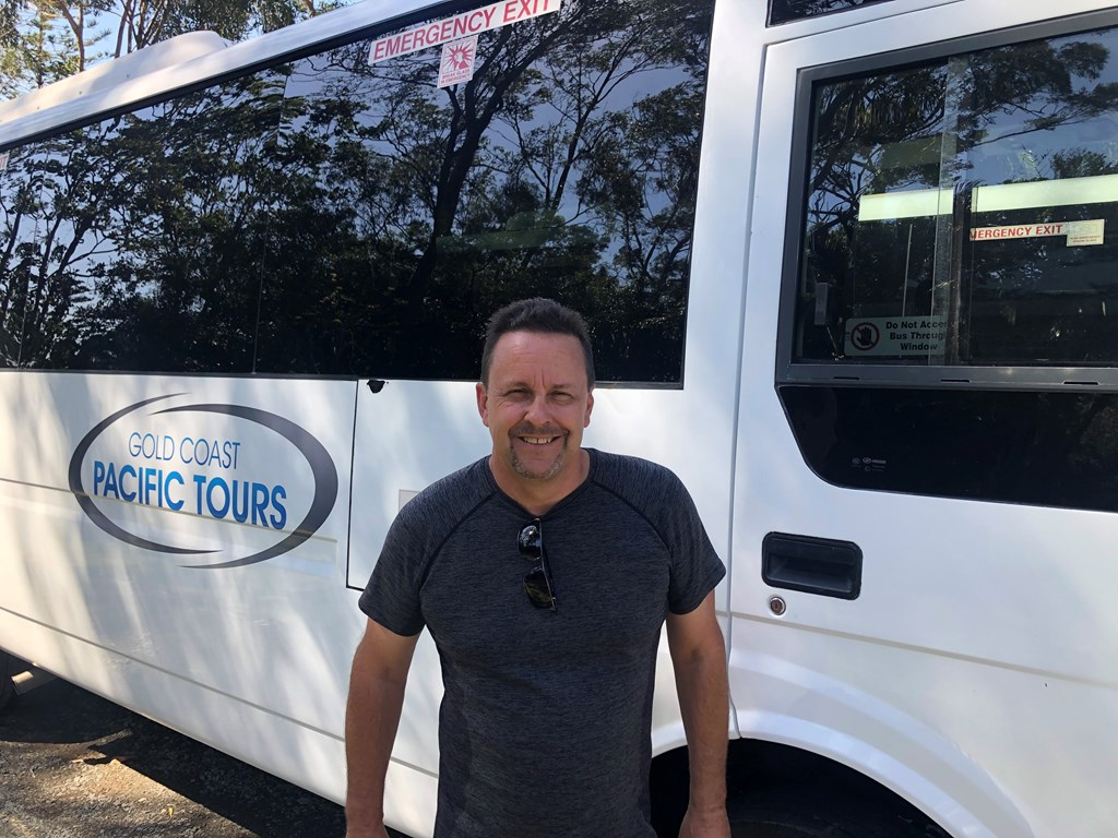 Gold Coast Pacific Tours owner David Marotte