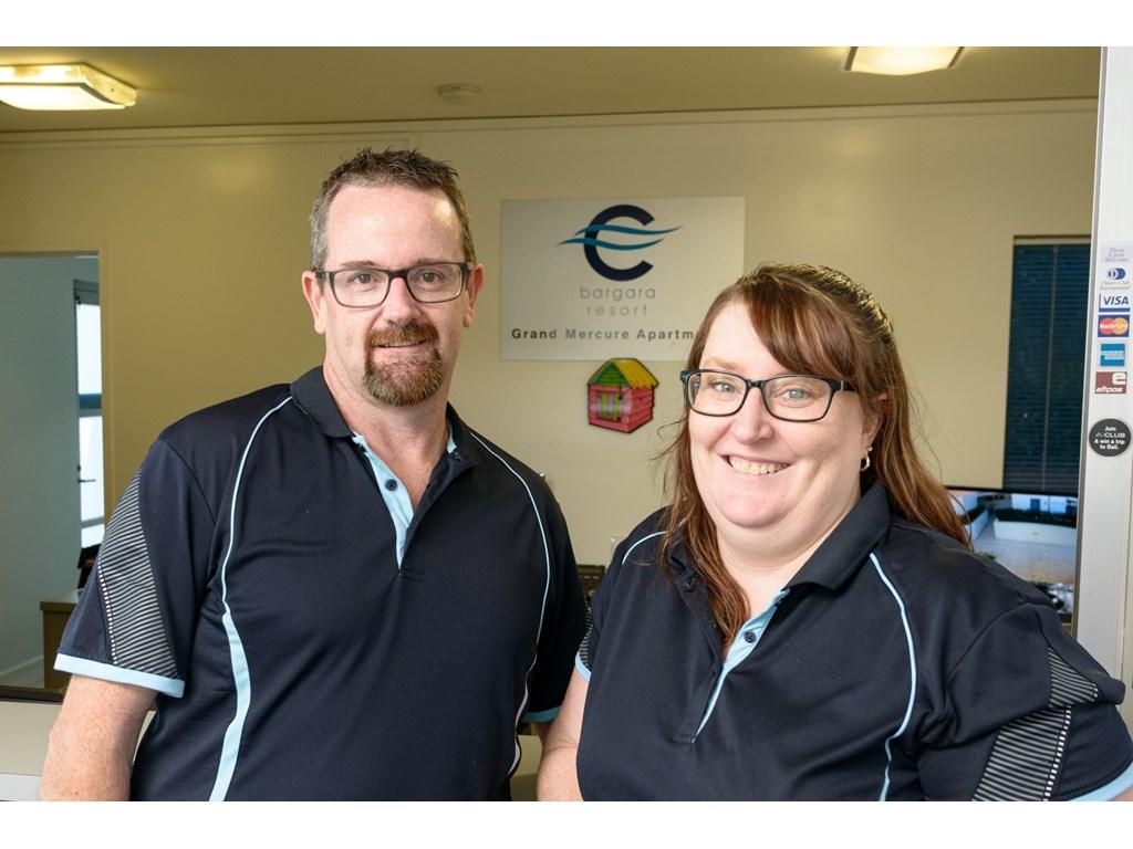 Dale and Kylie Sumner of C Bagara Resort