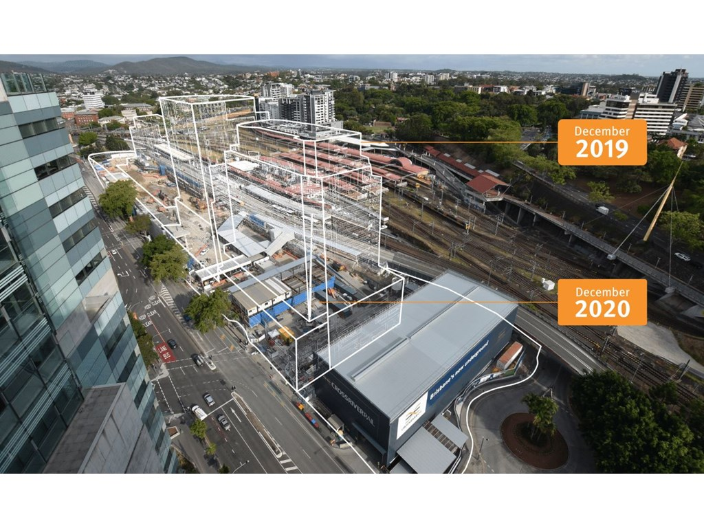 Brisbane's ugliest building makes way for new 'Grand Central'