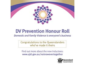 Prevention of domestic and family violence honoured