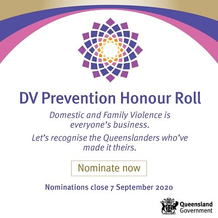 Nominations now open for Queensland's first Domestic and Family Violence Prevention Honour Roll