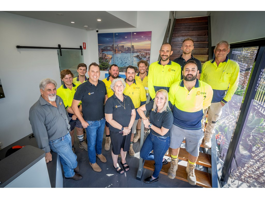 Core Developments NQ, named 2021 Small Employer of the Year at the Queensland Training Awards